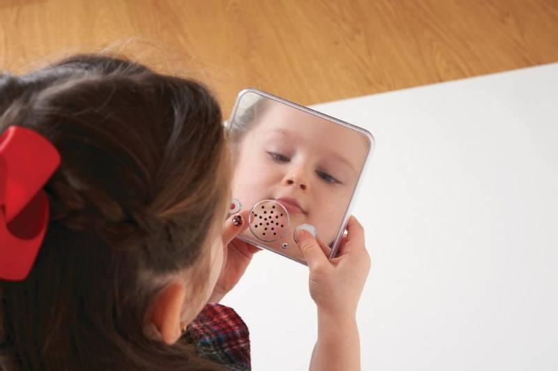 Opptakbar speil