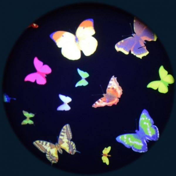 Solar effekthjul sommerfugler